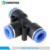 空気連合ティーは管継手を押に接続する