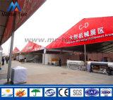 Tienda de lujo de la exposición con la tela del PVC y el marco claros del aluminio