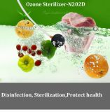 300mg / H Timer Control Generador de Ozono Purificador de Aire y Agua para Hortalizas y Frutas