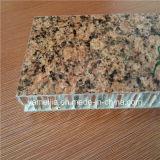 Les graines en pierre PVDF ont enduit les panneaux de revêtement en aluminium de mur extérieur de nid d'abeilles de 25mm Ahp