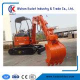 Machines de déménagement Zero Tail Kd28u Mini Excavator