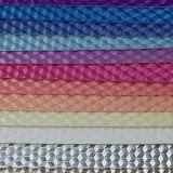 2017装飾的な袋のハンドバッグのための最も新しいデザイン3D幾何学の総合的な革(W141)
