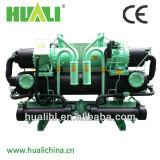Refrigerador de agua industrial de rosca de Huali con la recuperación de calor