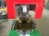 De hydraulische Hydraulische Gecombineerde Machine van het Ponsen en het Scheren van de Ijzerbewerker