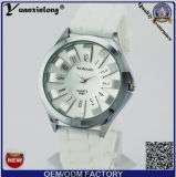 Yxl-266 남자의 형식 석영 시계 아날로그 디자인 실리콘 호화스러운 둥근 다이얼 시계 스포츠 우연한 남자 여자 소녀 복장 시계