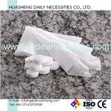 100% malla Spunlace blanco Toallas de tela no tejida comprimido