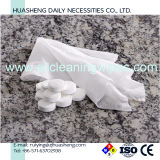 Обжатые полотенца ткани Spunlace сетки 100% белые Nonwoven