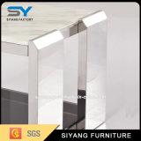 Buena venta de muebles Living superior de mármol gabinete tabla de TV