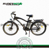 Bicyclette électrique de lithium en aluminium de bâti de 6061 alliages