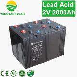 крен солнечной батареи 12V 2000ah для солнечных телекоммуникаций электрической системы