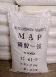 Tecnología del fosfato 12-61-0 de Monoammonium y categoría alimenticia solubles en agua completas