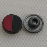 銃のジーンズのジャケットのための黒い方法タイプ金属のリベット