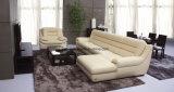 Sofá moderno do couro da sala de visitas (UL-NS236)
