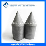 Le carbure de tungstène de qualité insère des boutons avec le dessus pointu