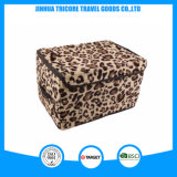 El mejor bolso impreso del rectángulo de almacenaje del estilo 2015 leopardo popular