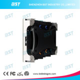 Pantalla de visualización publicitaria de interior de alta resolución de LED de P1.9mm 4k Ultral HD con Epistar SMD1010 LED negro