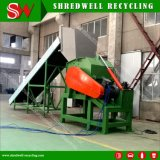 폐기물 차 또는 알루미늄 코일 또는 구리 또는 강철 재생을%s 시간 당 금속 슈레더 수용량 40tons가 보장에 의하여 2 년 자격을 줬다