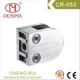 L'acier inoxydable l'ajustage de précision en verre de balustrade de bride en verre de moulage mécanique sous pression (CR-053)