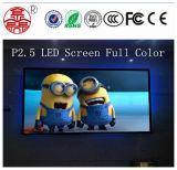 Módulo a todo color de interior de la pantalla de visualización de P2.5 160mm*160m m