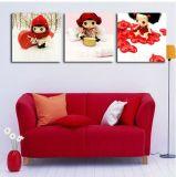 ホーム装飾の油絵映像の児童室のためのかわいい漫画のキャンバスプリント