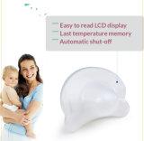 Cuidado de la seguridad de la salud del termómetro del silicón del pacificador de los niños médicos del LCD Digital