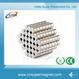 N42 Magneet van het Neodymium van de Cilinder van de Magneten van NdFeB van de Zeldzame aarde de Permanente