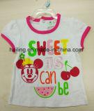 아기 착용의 t-셔츠 & 간결을%s 가진 2PCS 세트
