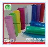 Film rigide décoratif de PVC de couleur solide pour l'emballage de vide
