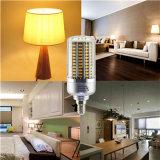 LEDのトウモロコシライトE14 25Wは白い銀製カラーボディLED球根ランプを暖める