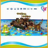 Le meilleur prix de modèle spécial badine la cour de jeu molle d'intérieur de bateau de pirate (A-15331)