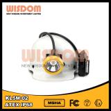 Lampe de chapeau anti-déflagrante de mineur de la sagesse Kl5ms-02 IP68 DEL, phare de sûreté
