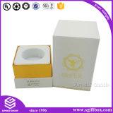 Caixa de embalagem de papel de ouro preto de luxo para perfume
