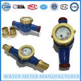 DN15mm Horizontal Rotor contador del agua de Rotary