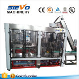 Máquina carbónica automática del embotellado y del lacre del llenador de la bebida del gas