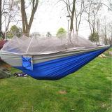 Hammock d'attaccatura di campeggio di nylon Amaca dei paracadute di nylon del Hammock di Hamacas dei paracadute ad alta resistenza del Hammock della persona del Portable 2 del Hammock