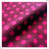 Tessuto in poliestere 100%, DON in chiffon in raso satinato stampato per indumento