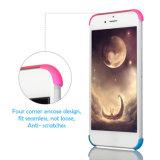 für iPhone 5 Mischungs-Farben-bewegliche Rechtssache SE-6 7 360 Grad-volle Karosserien-Deckel PC stark dünne ausgeglichenes Glas-Schoner-Fälle für das iPhone 7 Plus