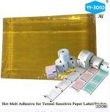 Pressão quente da colagem - adesivo sensível para adesivos removíveis da etiqueta