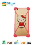 Alta calidad para todo uso del teléfono de silicona Universal Mobile / iPhone Case