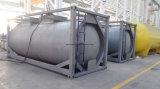 Recipiente do tanque de gás de T50 Liquied para o cloro, amônia, R134A, R22, Butune, Propene, gás Refrigerant