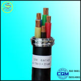 Cabo distribuidor de corrente usado do condutor construção de cobre XLPE