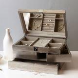 보석 선물 상자 포장 3개의 층 보석 전시 저장 상자