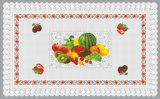 Venda quente (TZ-0028) tudo em um Tablecloth transparente impresso PVC independente do projeto para a HOME/partido/casamento