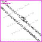 新しい方法宝石類のアクセサリは高くステンレス鋼の十字の鎖を磨いた