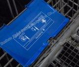 米国式のスーパーマーケットの小売店の便利なショッピングトロリー