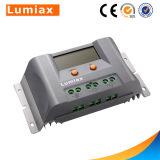 Controlador solar da carga do indicador PWM de Máximo-UE 12V/24V 30A LCD com USB
