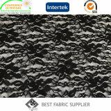 Tessuto del pannello esterno del vestito del merletto dello Spandex del nylon 8% di 92% delle donne di lavoro a maglia del tessuto