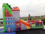 Glissière géante gonflable de vente chaude merveilleuse de parc d'attractions