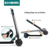 Koowheelの小型折られたリチウムSamsung電池の移動性の電気蹴りのスクーター