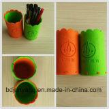 Малые мешки войлока в случай карандаша мешка войлока пер DIY цветастый